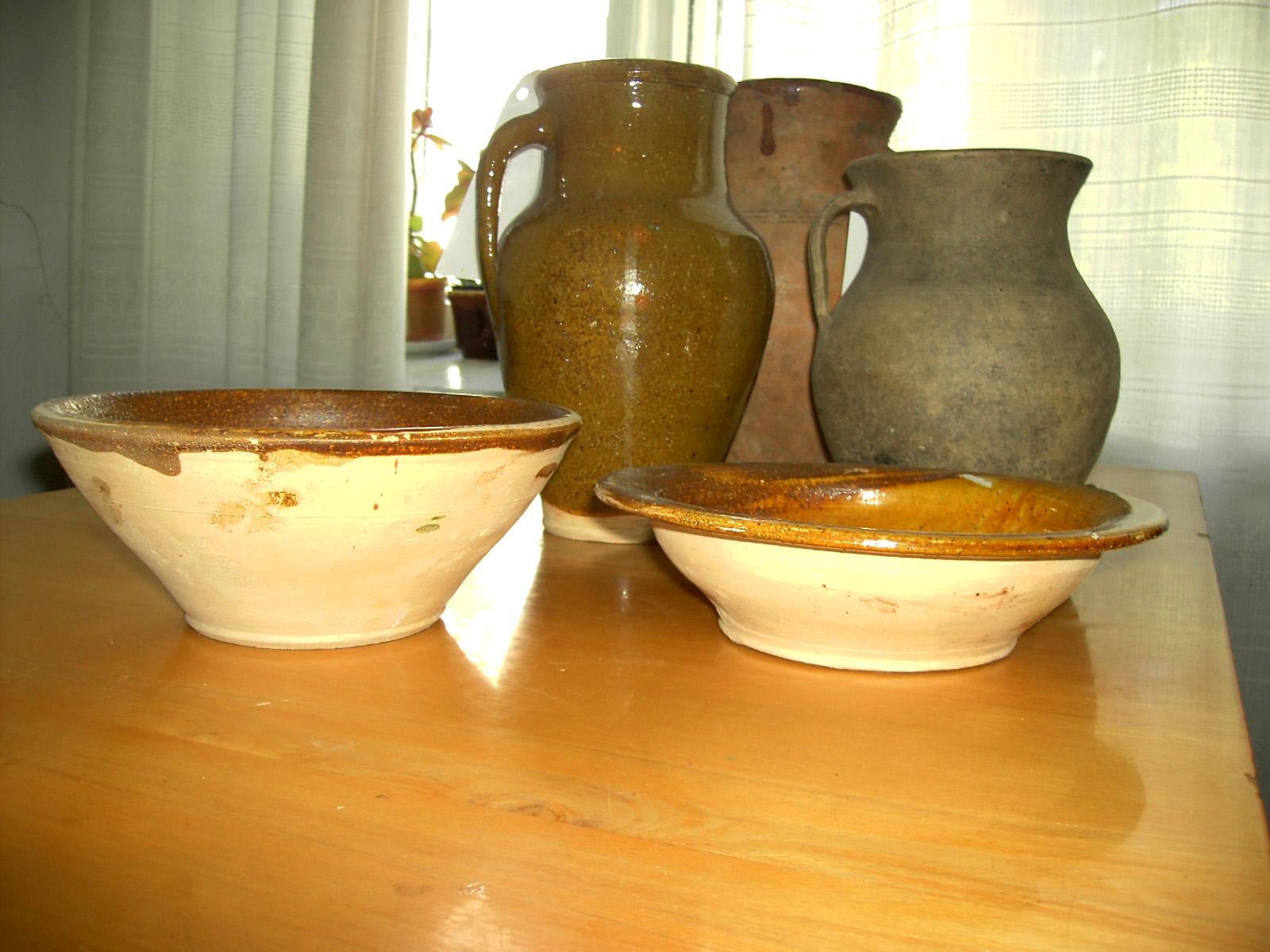 схема вироби з глини
